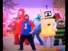 black on yo gabba gabba yo gabba gabba dancey black
