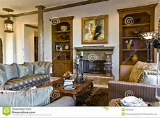 Living Room Interior stock photo. Image of home, indoors