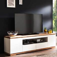 tv moebel design tv m 246 bel dentura in wei 223 mit asteiche massivholz