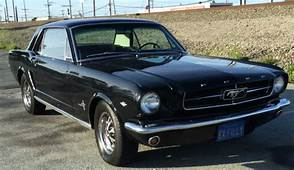 1964 1/2 Ford Mustang Coupe Black On ONE FAMILY