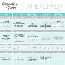 One Week Of Healthy Lowcarb Meal Plan Une Semaine De