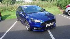 used ford focus 2 0 tdci 185 st 3 5dr impact blue