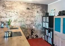 Wohnideen Wandgestaltung Maler Loft Shabby In Einer