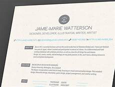resume and cover letter behance