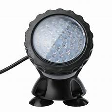 36 led rgb submersible pond spot lights underwater pool