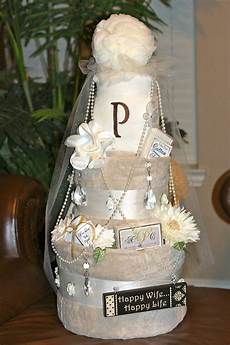 wedding shower towel cake bath towels towels etc and bath supplies tucked inside made