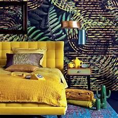 jungle ambiance tropicale deco chambre parentale