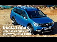 Dacia Logan Neu - 2017 dacia logan mcv stepway road styled estate gets