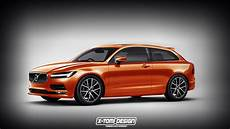 new volvo c30 rendered with s90 front end carscoops