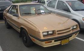 Image 1985 Dodge Charger Photographed In Laval Quebec