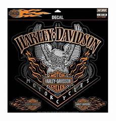 harley davidson eagle pinstripes decal 4 stickers per