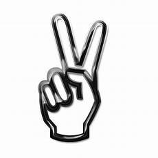 peace zeichen finger finger peace sign clipart best