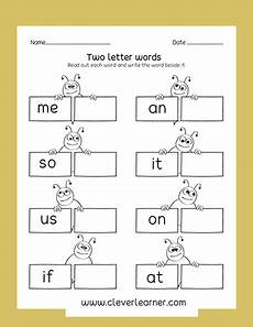 two letter words worksheets for kindergarten 23538 two letter words writing activity worksheets for preschools preschool elearnin two