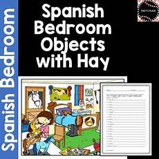 worksheets with hay 18316 bedroom 20 sentences w hay worksheet el dormitorio bedroom bedroom