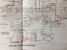 1981 harley wiring diagram 1981 fxs lowrider wiring and starting help harley davidson forums
