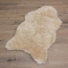 schaffell lammfell teppich imitat kunstfell pelz weich 4