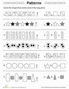 shape patterns worksheets 244 geometric patterns what comes next worksheet education