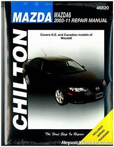 chilton car manuals free download 2006 mazda mazda6 navigation system 2003 2011 mazda 6 chilton automotive repair manual