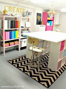 7 fabulous makeover ideas for your basement craft room