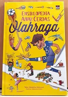 Buku Ensiklopedia Anak Cerdas Olahraga Cover