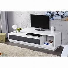 Meuble Tv Design Blanc Laque Pas Cher Id 233 Es De