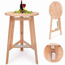 folding wooden bar table high seat stool buy high bar
