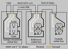gfci line load wiring electrical 101