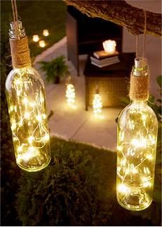 Le Aus Weinflasche - led deko quot weinflasche quot mit h 252 bschem lichteffekt geschenk