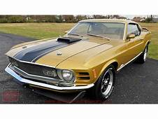 1970 Ford Mustang Mach 1 For Sale  ClassicCarscom CC
