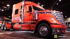 truck show 2018 international lone sleeper truck walkaround