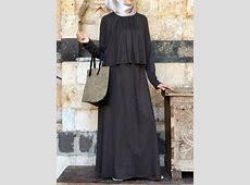 Asma Double Layered Dress   Hijabi fashion, Muslim women