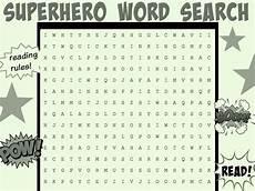 superhero word search worksheets printables scholastic parents