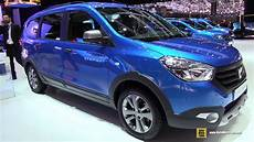 2015 dacia lodgy stepway exterior and interior