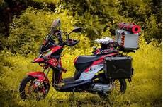 Modifikasi Beat Touring by Modifikasi Honda Beat Fi 2015 Kenalkan Indonesia Lewat