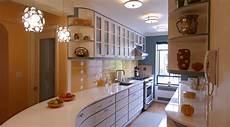 Streamline Moderne Kitchen Design For A 1920s Era Deco