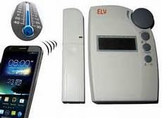 handy gsm heizungssteuerung f 252 r elv thermostat fht 80b mit