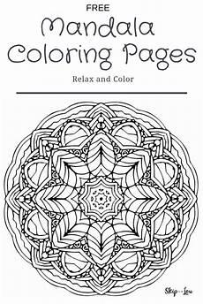 mandala coloring pages for tweens 18015 beautiful free mandala coloring pages skip to my lou