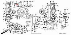 2007 honda accord engine diagram front right rubber engine side mounts honda accord v6 2003 2007 3 0 l at 50820 sdb a01