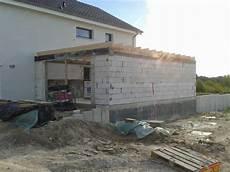 Unser Bautagebuch Dachbalken Garage