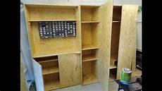 möbel selber bauen schrank f 252 r garage selber bauen aus osb