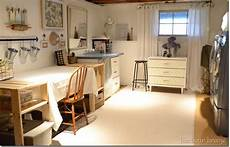 basement craft laundry room reveal harbour home