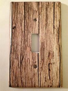 rustic light switch covers home decor outlet ebay
