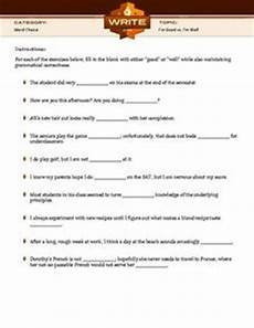 i m good i m well 5th 10th grade worksheet lesson