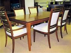 thomasville furniture modern theory dining table and or
