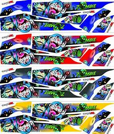 Striping Fiz R Variasi by Jual Striping Variasi New R Sticker Motor Stiker Di