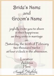 How To Write A Wedding Invitation Card