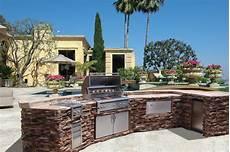 mode concrete luxury outdoor kitchens