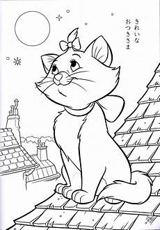walt disney coloring pages marie walt disney characters photo 34502974 fanpop