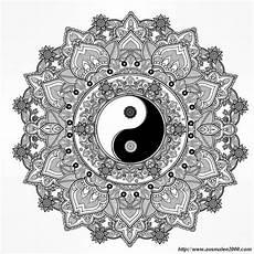 Malvorlagen Yin Yang Kita Ausmalbilder Mandalas Bild Yin Und Yang