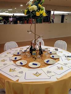 Decorations For The Table by Table Decor For Freemason Banquet S Goodies